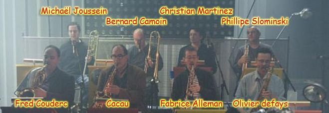 musiciens du big band Section_de_cuivres